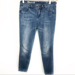 MADEWELL | Skinny Skinny Ankle Jeans Size 27